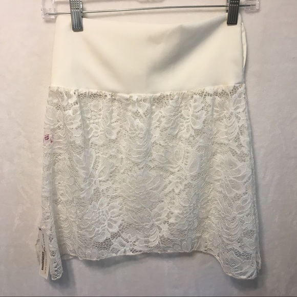 Booty Shawl Other - 5/$20 Booty Shawl White Lace Swim Coverup